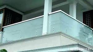 glass balcony railing detail industries l rail systems railings supported system top 1 glass balcony railing cost india deck barade