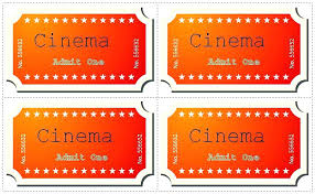 Microsoft Word Ticket Templates Magnificent Admit One Template Word Heptane