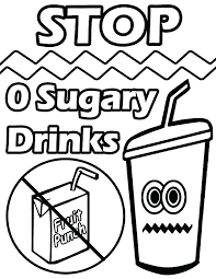 Health Coloring Pages Health Drinks Colouring Pages National ...