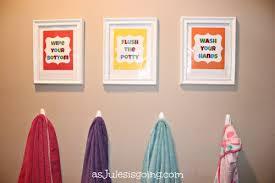 kids bathroom decor signs. Brilliant Decor Kidsu0027 Bathroom ArtSigns Wipe Your Bottom Flush The Potty Wash Throughout Kids Decor Signs 0