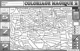Coloriage Magique Addition 34 Dessin Imprimer Coloriage Magique