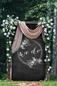 Affordable Ceremony Altars To Your At Home Wedding Beautiful Sorry Diy The Thesorrygirls Decor Drapes Wood Photobooth Photoshoot Summer Flower Girls Arbor Arch
