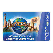 It offers numerous packages for family, singles and couples. Universal Collectible Gift Card Where Vacation Becomes Adventure
