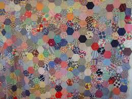 Hexagons Vintage Quilt Top | Cindy Rennels Antique Quilts | Quilts ... & Hexagons Vintage Quilt Top | Cindy Rennels Antique Quilts Adamdwight.com