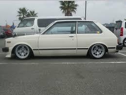 Toyota Starlet | Lowered, Slammed, JDM, Stance | Import cars ...