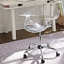 acrylic swivel chair pbteen acrylic office chairs