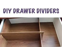 Organizing Drawers Best CHEAP ORGANIZING DIY Drawer Dividers YouTube