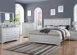 black and silver bedroom furniture. Black And Silver Bedroom Set Allure Finish Furniture Y