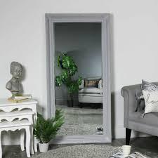 large ornate grey floor wall leaner