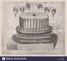 Speculum Romanae Magnificentiae: Corintio, Sebastiano Serlio, base 1544  Fotografía de stock - Alamy