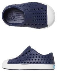 Native Jefferson Shoes Size Chart Native Jefferson Shoe Kids Regatta Blue Surfstitch