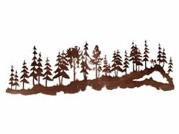 84 large pine tree forest metal wall art on wall art trees large with 84 large pine tree forest metal wall art nature wall decor