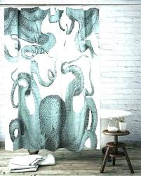 shower curtains curtain octopus plus panda rings show