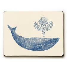 damask whale by terry fan solid on damask wood wall art with artehouse 9 in x 12 in damask whale by terry fan solid wood wall