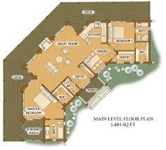 4 Bedroom Log Cabin Floor Plan 2015  So Replica Houses4 Bedroom Log Cabin Floor Plans