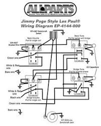 wiring kit for gibson® jimmy page les paul complete w diagram pots image is loading wiring kit for gibson jimmy page les paul