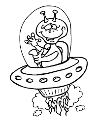 Small Picture Alien Coloring Pages 7 Coloring Kids