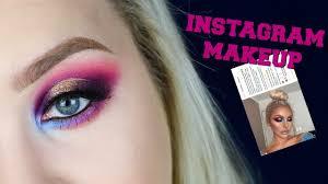 recreating insram makeup on hooded eyes