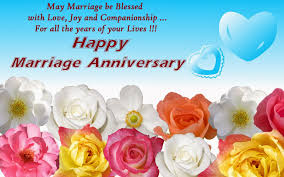 Best Happy Wedding Anniversary Wishes Cards For Husband Wife Newznew