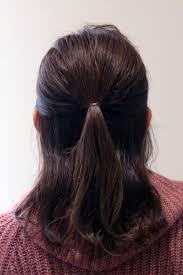 ロングでも涼しげ巻かないくるりんぱ三つ編みまとめ髪ヘアアレンジ
