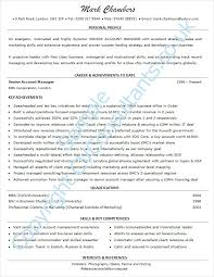Sample Of Good Resume 16 Breakupus Heavenly Senior Sales Executive ...