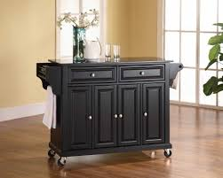 Kitchen Storage Carts Cabinets Black Kitchen Storage Cabinet