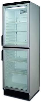 glass door double door fridge 351