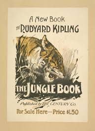 ilrated book cover for the jungle book
