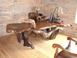 coffee tables diy simple wood slab coffee table rustic desk office tree for slice reclaimed