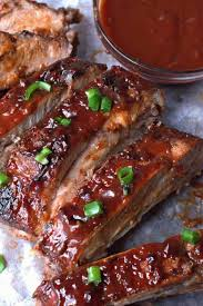 easy oven bbq baked ribs recipe
