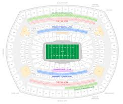 New York Jets Seating Chart New York Jets Suite Rentals Metlife Stadium