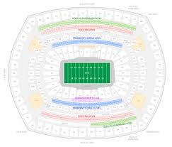 Ny Jets Stadium Seating Chart New York Jets Suite Rentals Metlife Stadium