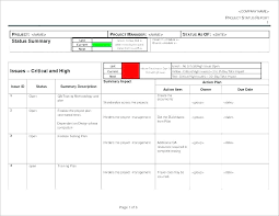 Status Report Format Weekly Project Plan Template Basic Project With Dependencies Project