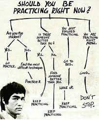 Bruce Lee Practice Chart Bruce Lee Motivation Chart Martial Arts Quotes Bruce Lee