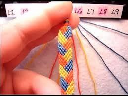 Braided Bracelet Patterns Simple ▻ Friendship Bracelet Tutorial Beginner The Braided Stitch