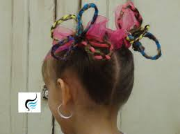 Pigtails Hair Style seuss haircrazy hair pigtails for girls hairstyles youtube 4483 by stevesalt.us