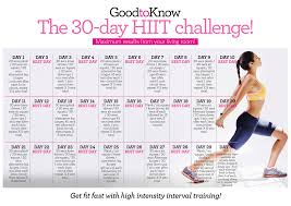the 30 day hiit workout challenge