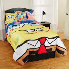 spongebob squarepants scribble sponge reversible twin full comforter com