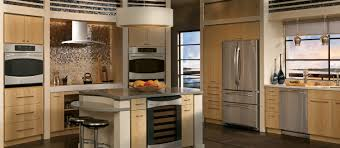 Kitchen Pics Purple Kitchen Design With Modern Stove And Refrigerator Kitchen