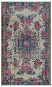 turkish vintage rug 3 10 x 6 4