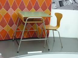 school chair side view. simple school desk chair side view and commonly used in high to