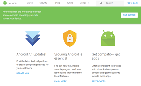 Aosp Site Gets Updated With Material Design A Better Mobile View