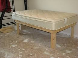 basic bed frame diy diy platform bed frame plans on simple diy bed frame medium size
