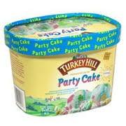 Turkey Hill Ice Cream Premium Party Cake Calories Nutrition