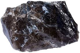 quartz is a mineral with crystalline structure but there are no planes of weakness inside the crystal hence it has no preferred planar surfaces along