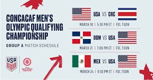 Participating athletes must be born on or after jan. Preview U 23 Usmnt Ready To Embark On Road To Tokyo At Concacaf Men S Olympic Qualifying Championship