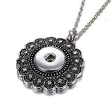 women s fashion snap jewelry ons pendant necklace 3 ons 18mm earring 12mm interchangeable necklace