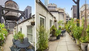Water Tower Home Pre War Penthouse With A Water Tower Atop Its Terrace Asks 25m