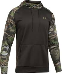 under armour zip up. product image · under armour men\u0027s fleece camo blocked hoodie zip up s
