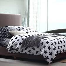 black and white stars full queen size duvet cover cotton bedding stars duvet cover king size